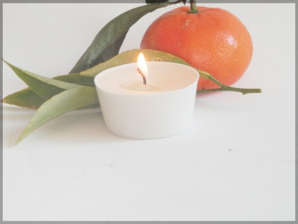 4 Picculis candles fragrance CLEMENTINE & MANDARINE