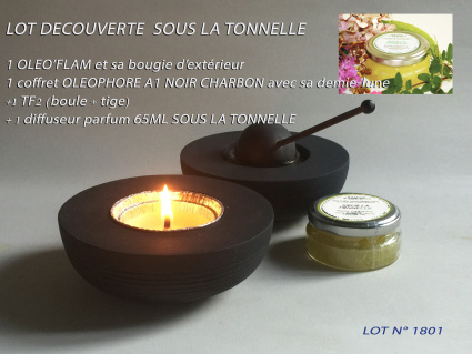 LOT DECOUVERTE SOUS LA TONNELLE